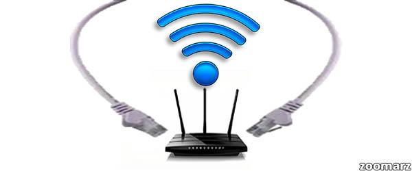 رای اتصال به اینترنت از وای فای استفاده کینم یا اینترنت با سیم