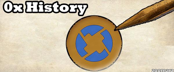 تاریخچه ارز دیجیتال 0x