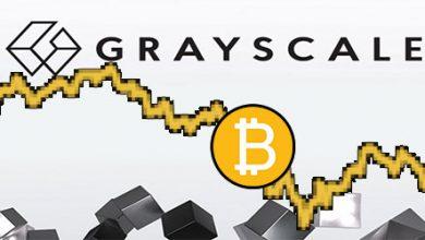 120 میلیون دلار بیت کوین به خزانه Grayscale اضافه می شود.
