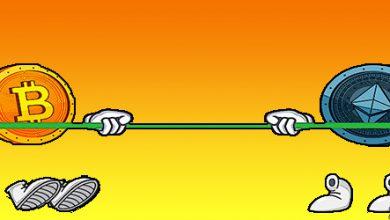 تصویر موفقیت بیت کوین 💣 نسبت به اتریوم
