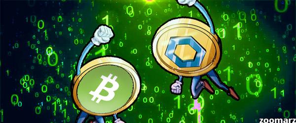 تصویر حجم معاملاتی Link از Bitcoin Cash بیشتر شد.