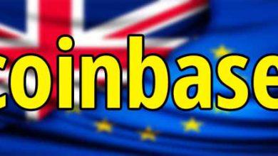 تصویر عذر خواهی Coinbase از مشتریان اتحادیه اروپا و انگلیس