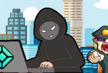تصویر تحقیقات پلیس ژاپن در مورد هک صرافی Coincheck