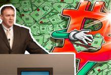 تصویر پیش بینی مدیر عامل Guggenheim درمورد قیمت بیت کوین