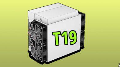 تصویر دستگاه ماینر T19 | مشخصات دستگاه ماینر T19