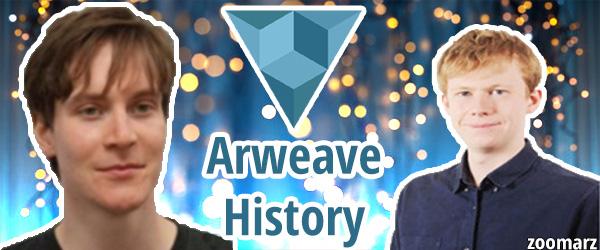 تاریخچه و بنیان گذاران آرویو ( Arweave )