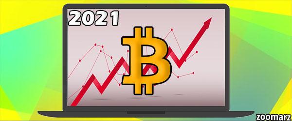 پیش بینی قیمت بیت کوین برای سال 2021