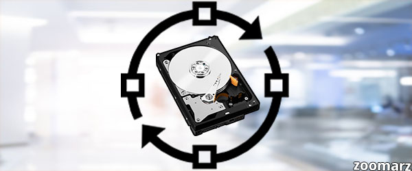 فرآیند استخراج به وسیله هارد دیسک (HDD)