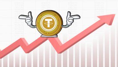 ارزش کل بازار تتر طی یک سال ده برابر شده است