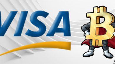 VISA به دنبال اضافه کردن قابلیت خرید بیت کوین با کارت های این شرکت