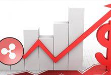 تصویر افزایش قیمت ریپل