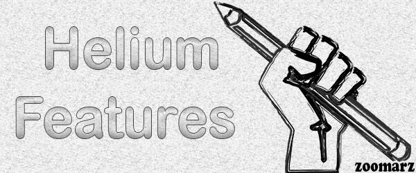 معرفی ویژگی های شبکه هلیوم Helium