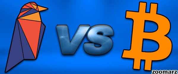 تفاوت بین بیت کوین BTC و ریون کوین RVN