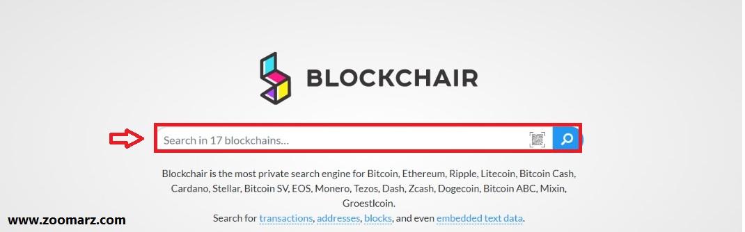 7.مرورگر Blockchair