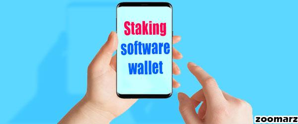 استیکینگ Staking در کیف پول های نرم افزاری