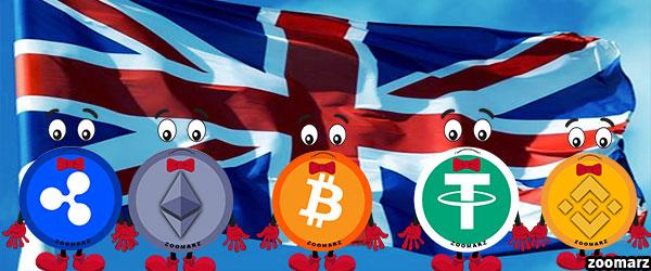 ممنوعیت خرید ارز های دیجیتال در بریتانیا