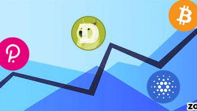 اطمینان موسسات به افزایش قیمت ارز های دیجیتال