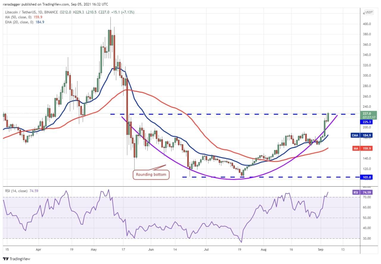 نمودار روند قیمت