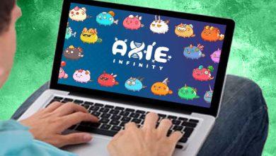 بازی اکسی اینفینیتی Axie Infinity