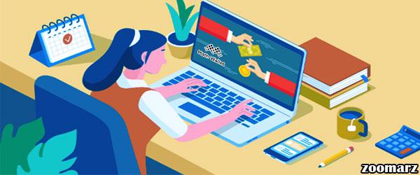 آموزش دریافت ارز دیجیتال در کیف پول MathWallet