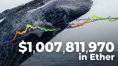 یک میلیارد دلار اتریوم از سوی بازیکنان بزرگ بازار جابجا شد