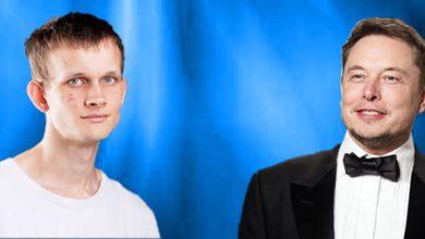 خبر جدید: ایلان ماسک و ویتالیک بوترین در لیست صد فرد تاثیرگذار سال
