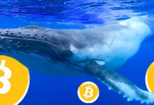 خرید 321 واحدی بیت کوین از سوی نهنگ ها